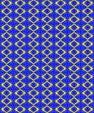 Textiel herhaalde patroon en textuur in gouden tinten stock illustratie