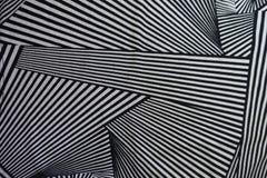 Textiel met abstract geometrisch patroon Stock Fotografie