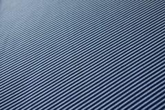Textiel met blauwe en witte diagonale strepen Stock Foto