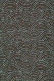 Textiel met patroon in vorm van heuvels of golven Stock Afbeeldingen