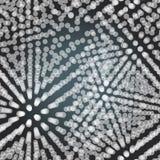 Textiel naadloos patroon van witte driehoeken op donkere achtergrond vector illustratie