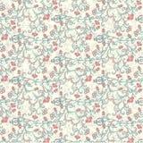 Textiel patroon van Granaatappel Royalty-vrije Stock Foto's