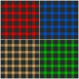 Textiel patroonachtergrond Royalty-vrije Stock Foto