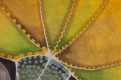 Textielillustratie bloemendetail Royalty-vrije Stock Afbeelding