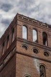 Textielmolenruïnes in Glendale Mills Spartanburg South Carolina Stock Foto
