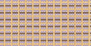Textielpatroonontwerp Stock Afbeeldingen