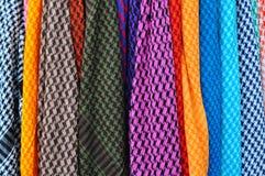 Textielpatroonverkoop Royalty-vrije Stock Foto