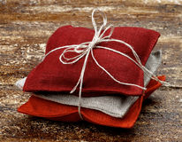 Textielsachet Royalty-vrije Stock Foto