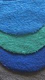 Textielsteekproef royalty-vrije stock afbeelding
