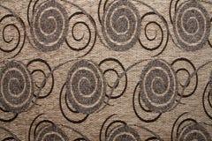 Textielstoffentextuur Anemon 109 Kameel bruine kleur Stock Foto