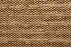 Textielstoffentextuur Anemon Kombin 020 Oker bruine kleur Stock Foto