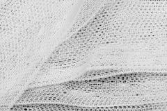 Textieltextuur met lijnen en bloemenpatroon Royalty-vrije Stock Foto's