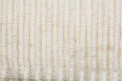 Textieltextuur met lijnen en bloemenpatroon Stock Afbeeldingen