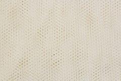 Textieltextuur met lijnen en bloemenpatroon Stock Foto