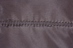 Textieltextuur met naad Royalty-vrije Stock Foto