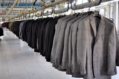 Textil factory Royalty Free Stock Photography
