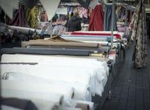 Textil market Stock Image