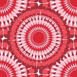 Textil pattern red flower Royalty Free Stock Photography