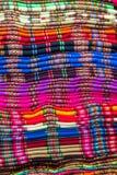 Textil tradicional colorido quechua da lembrança imagem de stock royalty free