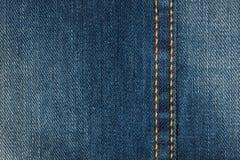 Textil - tygserie: Jeanshäftklammer royaltyfri fotografi