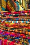 Textil w Peru obraz royalty free