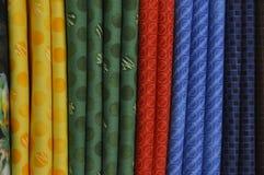 Textilanseende Arkivfoto