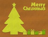 Textilbakgrund för glad jul Royaltyfri Bild