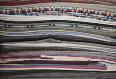 Textilbeschaffenheiten Stockfotografie