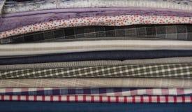 Textilbeschaffenheiten Stockfoto