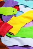 Textilbunte Socken Stockfotografie