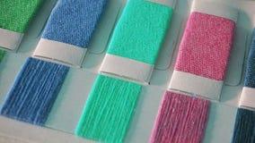 Textilcolourcard royaltyfri fotografi