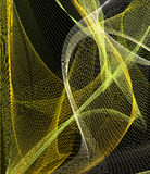 Textile. Golden material, textile background,  wight lines, abstract background Royalty Free Stock Images