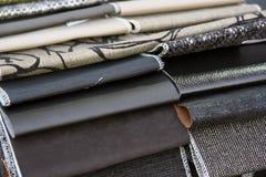 Textile. For furniture set Royalty Free Stock Photos
