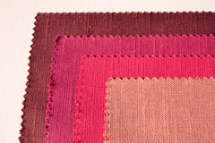 Textile. In colors pink and red Royalty Free Stock Photo