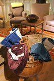 Textile assortment Stock Photo