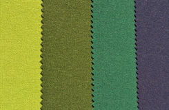 Textile background. Texture pattern in green and blue colors Stock Photo