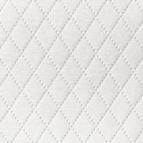 Textile background with diamond pattern decoration Royalty Free Stock Photos
