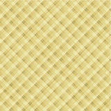 Textile background, seamless pattern included. Textile background, diagonally plaid or checked, of sand colors, plus seamless pattern included in swatch palette royalty free illustration