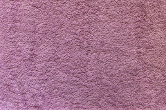 Textile Background. Violet Towel Textile Background Close-up Royalty Free Stock Photos