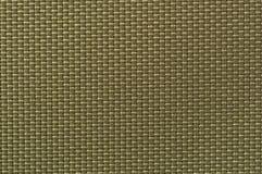 Textile background. Weaved textile background in khaki Royalty Free Stock Photos