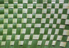 Textile banana leaf Royalty Free Stock Photography
