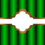 Textile banner. Royalty Free Stock Photo