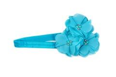 Textile blue flower Royalty Free Stock Photo