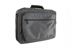 Textile briefcase. Stock Image