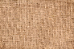 Textile burlap background Stock Photography