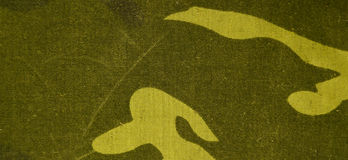 Textile camouflage cloth texture Stock Images