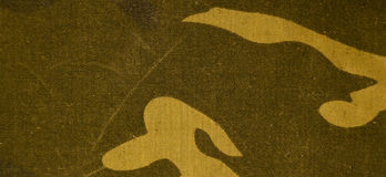 Textile camouflage cloth texture Royalty Free Stock Photos