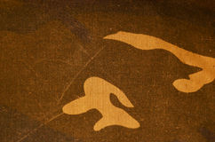Textile camouflage cloth texture Stock Photos