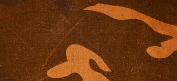 Textile camouflage cloth texture Royalty Free Stock Photography