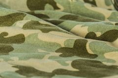 Textile camouflage uniform color background pattern. Abstract background and texture for design Royalty Free Stock Photos